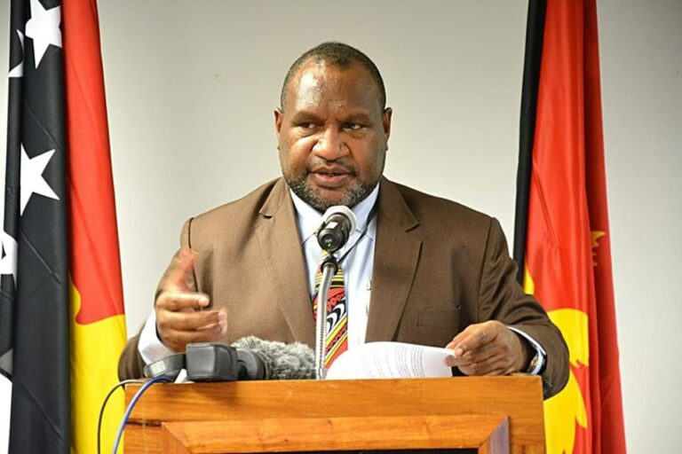 PRIME MINISTER OF PAPUA NEW GUINEA ADDRESSING THE NATION ABOUT CORONAVIRUS