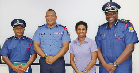 THE POLICE COMMISSIONER DAVID MANNING PROMOTED TWO LEGAL OFFICERS