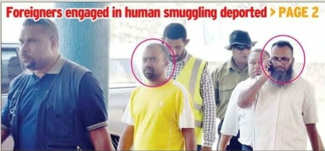 TEN FOREIGN NATIONALS ENGAGED IN HUMAN SMUGGLING IN PAPUA NEW GUINEA DEPORTED