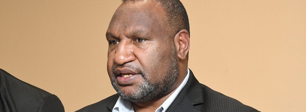 Prime Minister of Papua New Guinea Mr Marape urging Oil Search to Pay its Tax.