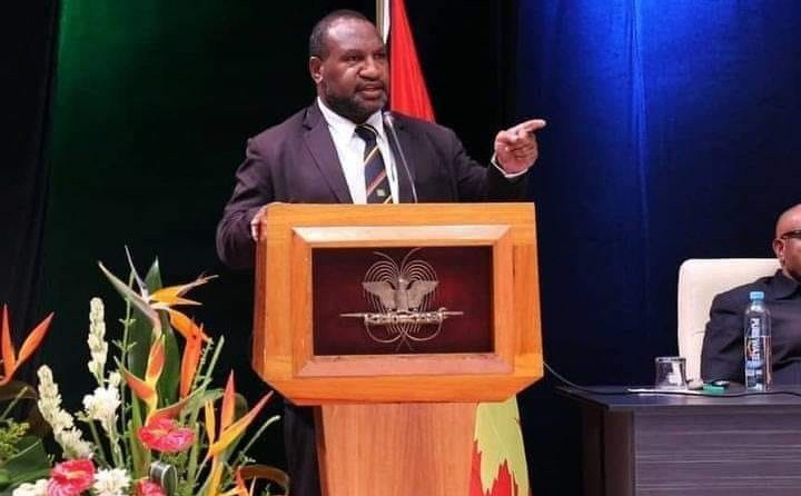 The Prime Minister of Papua New Guinea