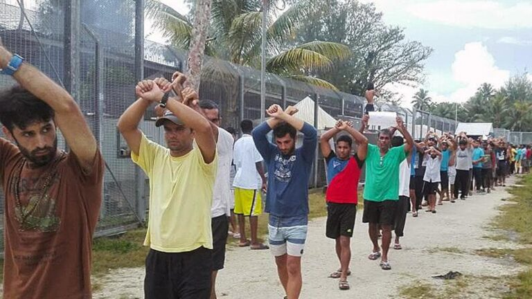 ASYLUM SEEKER OFF TO USA WITH PNG FAMILY