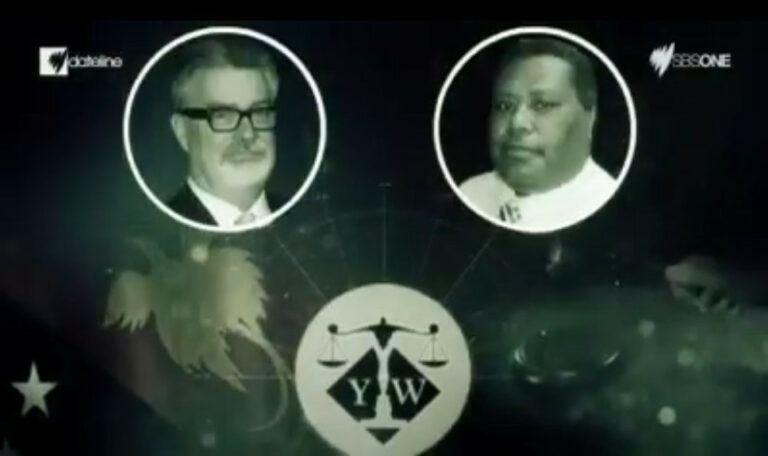 Watch How Papua New Guinea Official Corruption Exposed – Greg Sheppard and Harvey Maladina