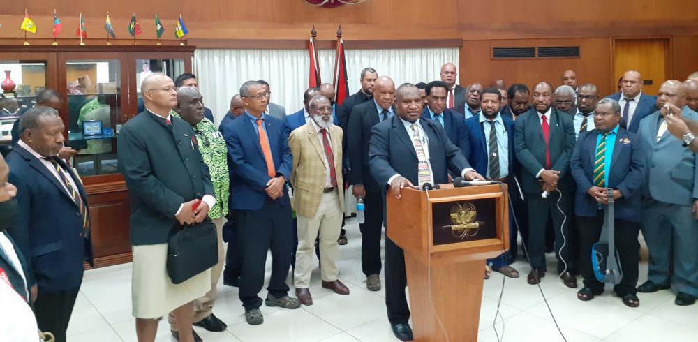 22 papua new guinea national general election - government commits to better voting process