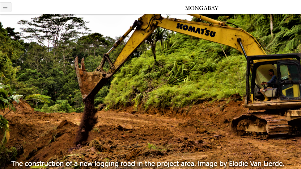 Mongabay Series:Forest Trackers on Papua New Guinea Deforestation